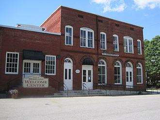 Moreland, Georgia - Moreland Welcome Center