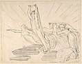 Morning- Pope's Odyssey, Book 12 (recto); Study for the final drawing (verso) MET DP804220.jpg