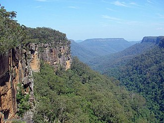 Southern Highlands (New South Wales) - Morton National Park at Fitzroy Falls