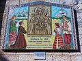 Mosaic near church of the Annunciation in Nazareth.jpg