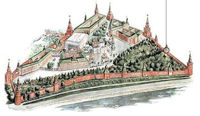 Moscow Kremlin map - Konstantino-Yeleninskaya Tower.png