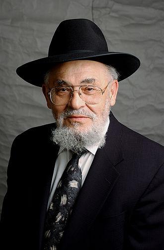 Moshe David Tendler - Courtesy of Yeshiva University