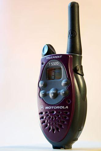 Family Radio Service - Motorola T5320 FRS handheld radio