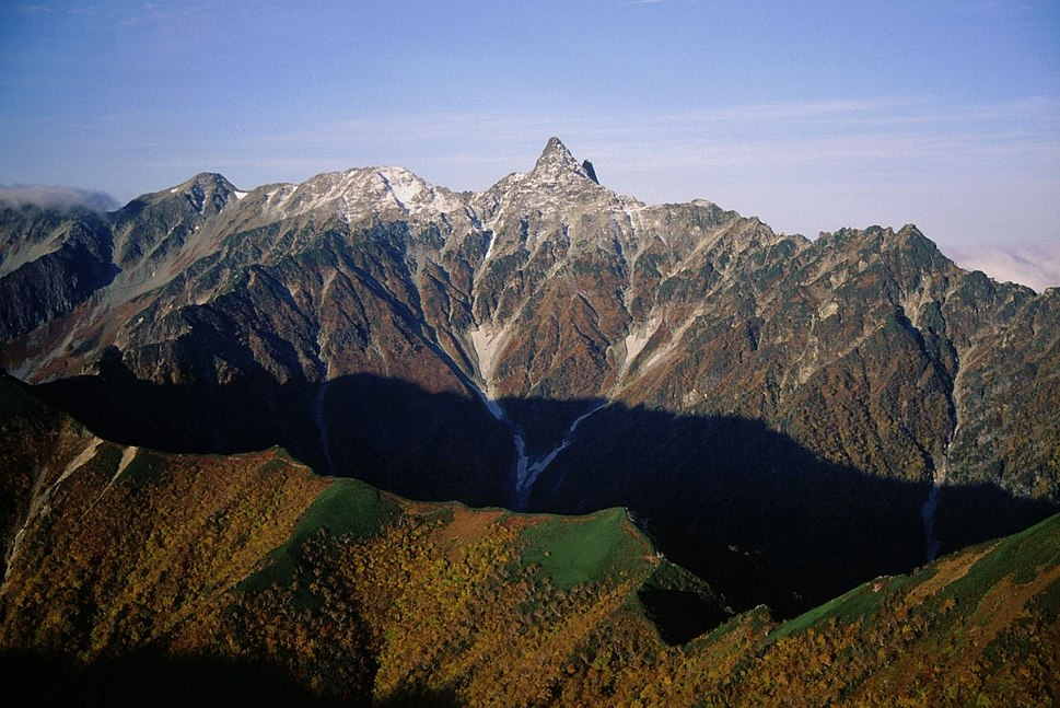 Mount Yari from Mount Otensho
