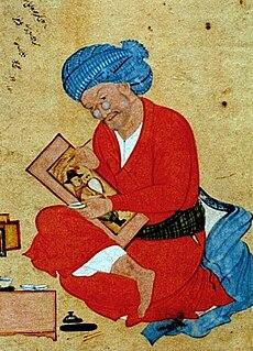 Persian painter