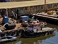 Muelle del Riachuelo cerca del puente Puente Avellaneda 04.jpg