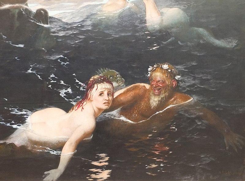 Muenchen Neue Pinakothek Boecklin Spiel Wellen 01.jpg