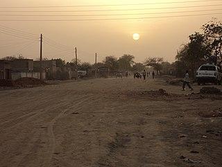 Muglad City in West Kurdufan, Sudan