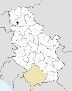 mapa vojvodine backi petrovac Bački Petrovac   Wikipedia mapa vojvodine backi petrovac