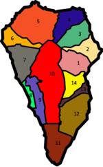 La Palma Mapa Municipios.La Palma Wikipedia La Enciclopedia Libre