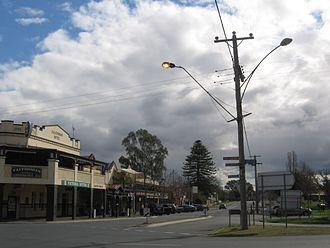 Murchison, Victoria - Main street