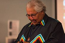 Murray Sinclair at Shingwauk 2015 Gathering.jpg