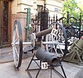 Museo de Armas de La Nación - Artillería en el exterior 10.JPG