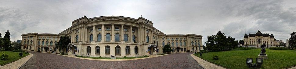 Muzeul Na%C8%9Bional de Art%C4%83 al Rom%C3%A2niei panorama