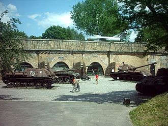 Poznań Fortress - Spezial-Kriegs-Laboratorium at Fort Winiary, now a military museum