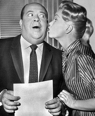 Stubby Kaye - Kaye with Shirley Bonne in 1960