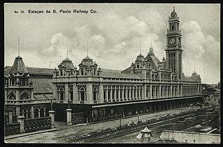 Nº72. Estação da S. Paulo Railway Co