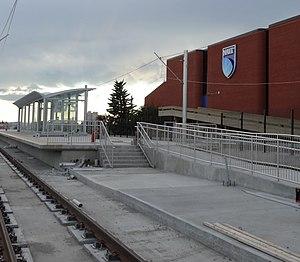 NAIT station - Image: NAITLRTUC