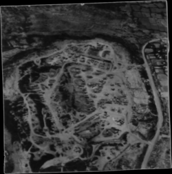 NARA 127-GVB-3-A801118 Black and white aerial view of Cam Lo Base Camp.png
