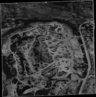 Cam Lộ Combat Base - A 1968 aerial view of Cam Lo