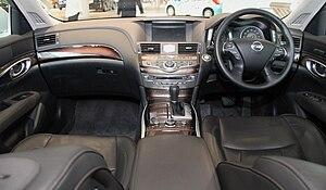 Nissan Fuga - Interior