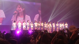 NMB48 - NMB48 during Asian tour in Bangkok 2017