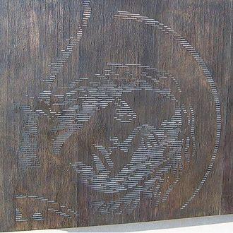 National Police Memorial Australia - Saint Michael, patron saint of policing.