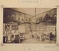 Nagyszentmiklós (Sânnicolau Mare), Románia. Nákó-kastély, könyvtár. 1895-1899 között - Fortepan 83562.jpg