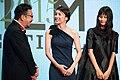 "Nakamura Yoshihiro, Takeuchi Yuko & Hashimoto Ai ""The Inerasable"" at Opening Ceremony of the 28th Tokyo International Film Festival (22417547052).jpg"