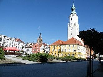 Namysłów - Town square