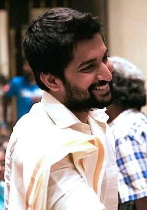 Nani (actor) - Image: Nani at Aaha Kalyanam audio launch (cropped)
