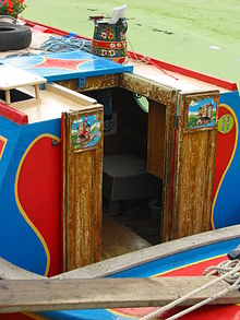 Traditional Style Canal Boat