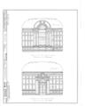Nassau Hall, Nassau Street, Princeton, Mercer County, NJ HABS NJ,11-PRINT,4B- (sheet 23 of 25).png