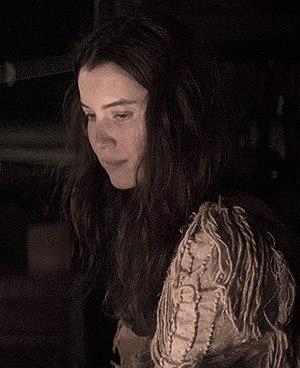 """Nathalia Dill - Image: Nathalia Dill em cena do filme """"Por Trás Do Céu"""""""