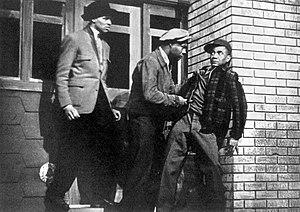Native Son (play) - J. Flashe Riley (Jack), Canada Lee (Bigger Thomas) and Wardell Saunders (Gus Mitchell)