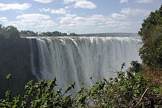 Transboundary protected area - Victoria Falls--National Parks in Zambia and Zimbabwe for a TBPA.
