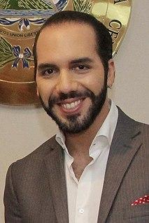 Nayib Bukele President-elect of El Salvador