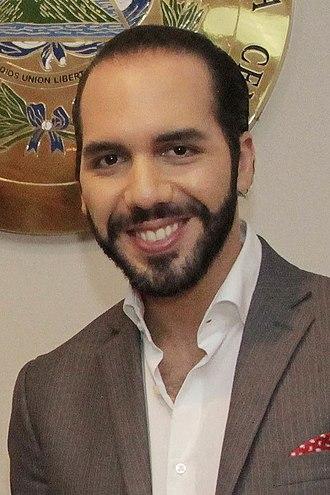 2019 Salvadoran presidential election - Image: Nayib Bukele (cropped)