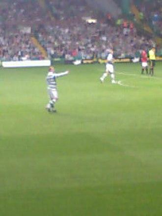 Neil Lennon - Neil Lennon returned to play for Celtic in the John Kennedy testimonial match, 9 August 2011