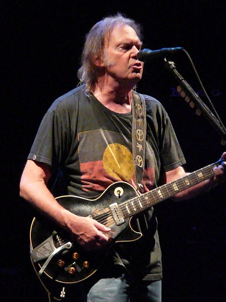 Neil Young in Nottingham 2009 (k)