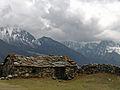 Nepal - Sagamartha Trek - 220 - Stone house (497653793).jpg