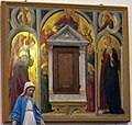 Neri di bicci, annunciazione e angeli, 1458 ca..JPG