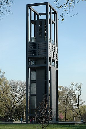 Netherlands Carillon - The Carillon viewed from the northwest