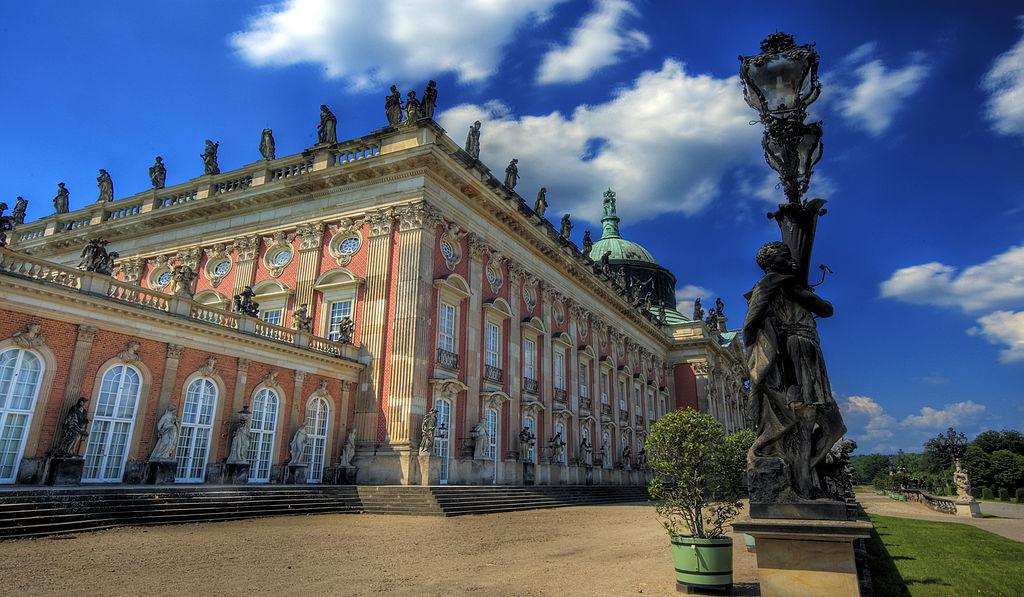 Palais Neues Palais à Potsdam - Photo de Wolfgang Staudt