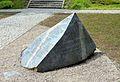 New obelisk Anielewicz Mound 18 Mila Street in Warsaw.JPG