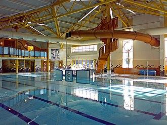Newbridge, Caerphilly - Newbridge Swimming Pool (photo 2007)