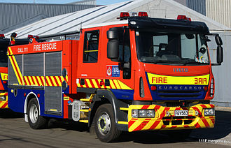 New Zealand Fire Service - Type 1 Pump Appliance.
