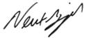 Newt Gingrich's signature