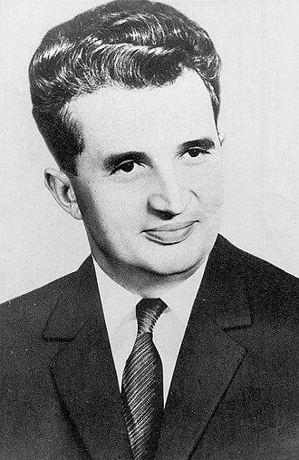 Socialist Republic of Romania - Nicolae Ceaușescu