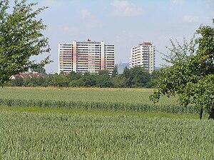 Nieder-Eschbach - Image: Nieder Eschbach Wohnhochhäuser